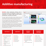 Additive Manufacturing flyer MatchID