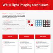 White Light Imaging Techniques MatchID